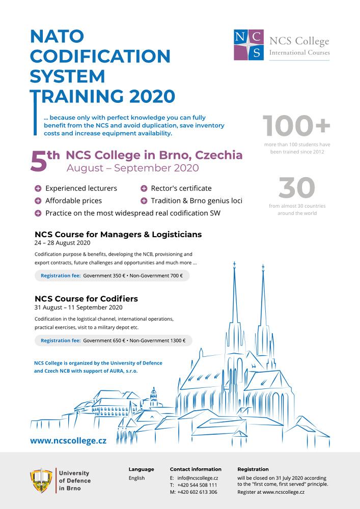 NCS College advert